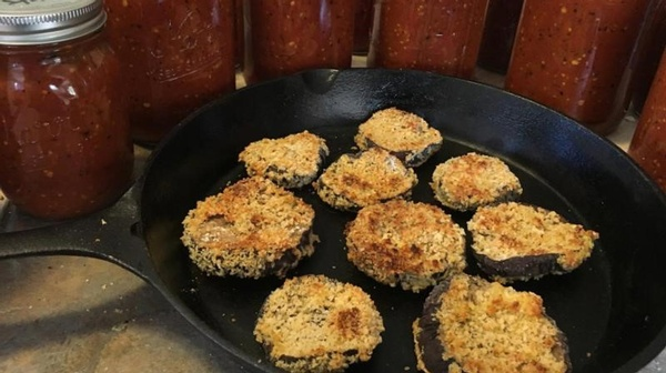 When life gives you eggplants...