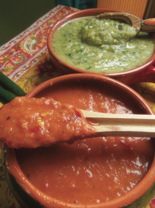 A tale of two chile sauces
