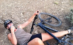 How to cry on your mountain bike