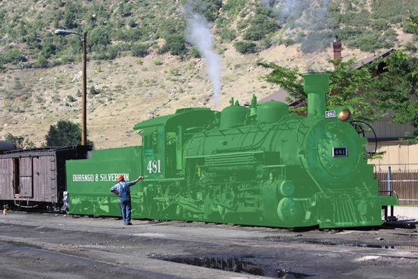 Train gets onboard with non-coal engines - Durango Telegraph