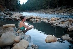 The hot spot: taking the edge off at the Piedra Hot Springs